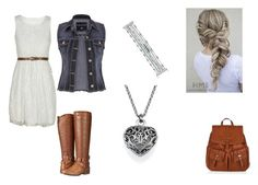 """""""Untitled #133"""" by weirdobutfun ❤ liked on Polyvore featuring Accessorize, Madden Girl, maurices and Lucky Brand"""