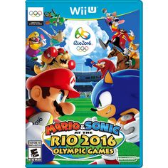 Compete with Mario™, Sonic and all your favorite characters in Rio de Janeiro, host of the Olympic Games in 2016. Gear up for the competition, and see if you've got what it takes to compete with the best in events like Soccer, Rugby Sevens and Beach Volleyball.<br><br>The Mario and Sonic at the Rio 2016 Olympic Games for Nintendo Wii U Features:<br><ul><li>Compete with the bests in events like Soccer, Rugby Sevens and Beach Volleyball</li><br><li>Take on fun and exciting events set thro...
