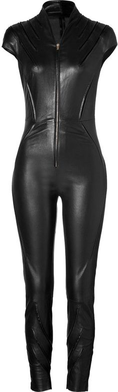 Shop for Leather Kinsky Jumpsuit in Black by Jitrois at ShopStyle. Now for Sold Out.
