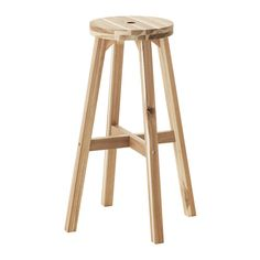 IKEA - SKOGSTA, £20 Bar stool, Solid wood is a hardwearing natural material.