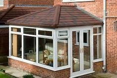 Edwardian Style Conservatory Roof, Saving on your energy bills at Solid Roof Conservatories Ltd Conservatory Roof Insulation, Replacement Conservatory Roof, Tiled Conservatory Roof, Conservatory Interiors, Conservatory Ideas, House Extensions, Kitchen Extensions, House Extension Plans, Edwardian Fashion