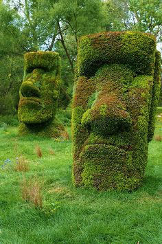 Hidden treat: The Easter Island heads also have BODIES | The o ...