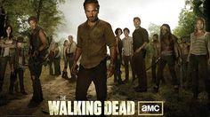 New The Walking Dead Whole Cast Wallpaper
