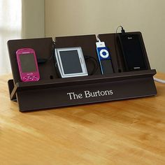 Charging Station for your whole family - from Lillian Vernon