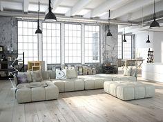 estilo loft mobiliario - Buscar con Google
