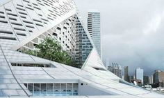 BIG completes its iconic VIA 57 West Courtscraper pyramid high-rise in NYC…
