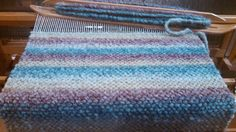 woven table runner deep rich teal, mustard, cranberry, and desert blends by canfieldcreations by canfieldcreations on Etsy