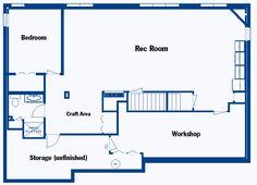 Finished Basement Floor Plans Finished Basement Floor