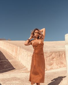 Brown Outfit, Our Girl, Luster, One Shoulder, Silhouette, Skinny, Golden Hour, Terracotta, Ministry