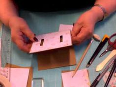 2019-01-02 - Dubbele schuifkaart #castella294 Punch Board, Shadow Box, Origami, Playing Cards, Joy, Templates, Birthday, Creative, Youtube