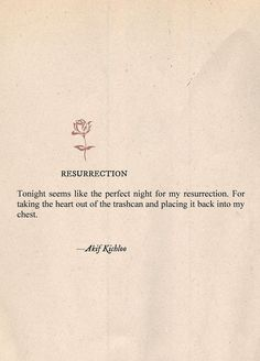"""Resurrection"" 