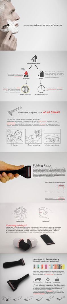 Folding razor http://250.or.kr/   http://www.facebook.com/250design