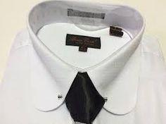 MEN'S BRUNO CONTE French Cuff White Dress Shirt Tie Hanky Set Round Collar Bar - $45.00 | PicClick Dress Shirt And Tie, French Cuff Dress Shirts, Round Collar Shirt, Cufflink Set, White Dress, Bar