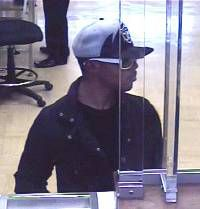 Suspect in a June 7 bank robbery at a Forestville M Bank branch.