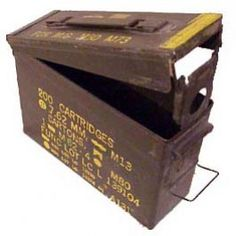 7.62mm Ammo Can  OR 30 cal Ammo Box