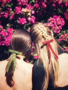 DIY Velvet Ribbon Bow Barrette – Honestly WTF