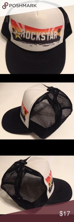 8711459486d79 italy rockstar energy drink nissun mesh hat cap snapback please see last  photo for description.