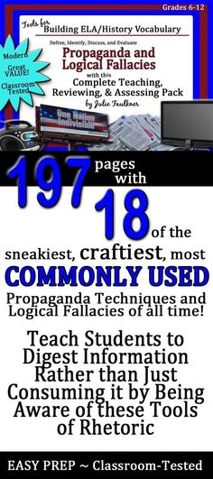 20 Best PROPAGANDA Lessons Activities And Classroom