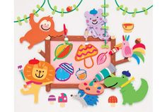Childcare, Kindergarten, Projects To Try, Paper, Illustration, Kids, Crafts, Animals, Decor