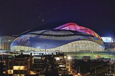 Bolshoy Ice Dome Architect: Mostovik