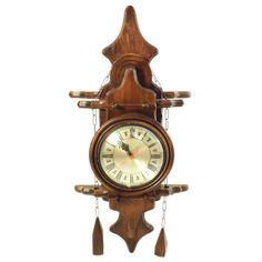 Relógio de Parede - Réplica Antigo - Madeira Trabalhada - Francesinho - https://www.carrodemola.com.br/produtos/86/relogio-parede-replica-antigo-madeira-trabalhada-francesinho