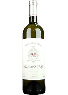 Il Duca Moscato d'Asti  Sweet, Apricot, Peach, Medium-bodiedAsti, Piedmont, Italy- A soft, easy-drinking white with notes of fresh peach and apricot intermingled with clover honey. Lower in alcohol, this is the perfect accompaniment to fresh fruit or as a delicious companion or alternative to dessert.