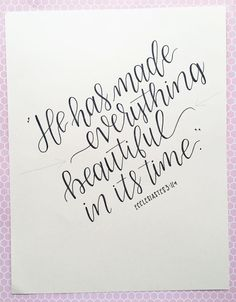 DIY Modern Calligraphy Tutorial: How to make faux calligraphy that looks amazing! Perennialjoy.com