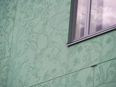 Pattern: Secret Garden. As Oy Tuusulan Tulppaani, Finland 2015 (housing). Architecture by L Arkkitehdit, prefabrication by SBS Betoni Oy.