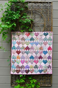 Liberty of London quilt charm squares by Sew french tutorial here!!!