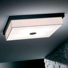 Bromi Design B5202 Raphael 4 Light Square Flush Mount Ceiling Fixture Black Indoor Lighting Ceiling Fixtures Flush Mount