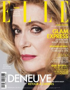Catherine Deneuve for Elle France #3619 May 07th 2015 | Art8amby's Blog