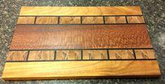 Lacewood, Canary wood, Alaska Birch,  &Wenge. End Grain Cutting Board, Wood Cutting Boards, Butcher Block Cutting Board, Serving Board, Serving Trays, Hardwood Lumber, Kitchen Board, Bread Board, Butcher Blocks