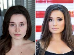 Random Enthusiasm Mind Blowing Makeup Transformations Before and After (20 photos)