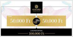Fifty-fifty akció - Arteus Capital, befektetés, megtakarítás aranyban, aranypiac