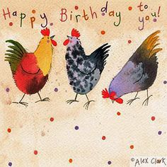 Image result for animated image of chickens saying happy birthday