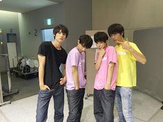 """3 Baka from drama """"Suikyu Yankees"""" + Sota Fukushi Ryo Yoshizawa x Yudai Chiba x Taishi Nakagawa, girl's magazine """"Seventeen"""" Fes, Aug/25/'15"""