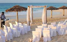 Destination Beach Wedding created by Black Orchid Florists & Events.
