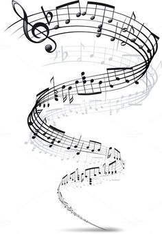 Music Notes Twisted Into A Spiral Stock Photos - Image: 10341763 Neue Tattoos, Bild Tattoos, Music Tattoos, Tatoos, Music Staff Tattoo, Sheet Music Tattoo, Music Notes Art, Music Music, Music Bird