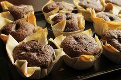 Filo dough cupcake wrappers.