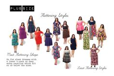 Plus size Dresses - how to pick one that's flattering - Photo Credit: gwynniebee.com