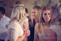 Wedding guests at Purbeck Golf Club Wedding. Photography by one thousand words wedding photographers