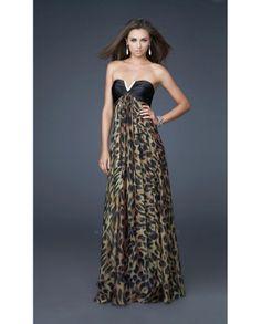 Leopard Bridesmaid Dress