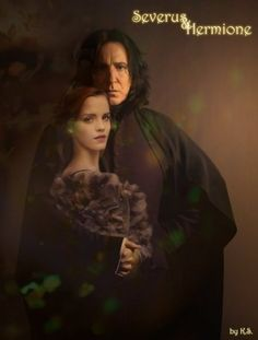 "Snamione lovers | Artwork: ""Severus & Hermione"" by KSWe recently reached 300 ..."