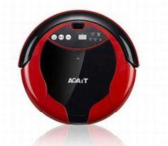 Aspirateur robot Agait eClean EC01 Enhanced rouge AR00251 moins cher - 257,00 € livré
