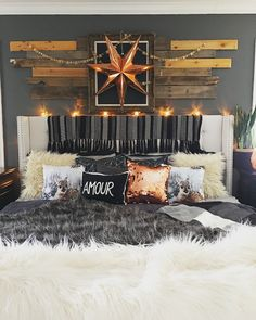 Rustic Boho Glam Master Bedroom