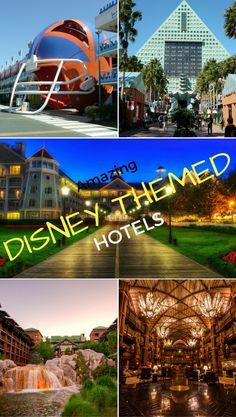 Amazing Disney World Themed Hotels to relive your childhood! Disney Hotels l Themed Hotels l Disney Resorts l Best Disney Hotels in the world l Walt Disney World Resort l Disney World rooms l Disneyland Hotels.