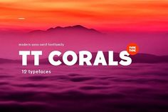 TT Corals on summer sale! Fonts **Limited time offer-Grab TT Corals with - 40 OFF!**TT Corals-modern grotesque with touch of 1900 by TYPETYPE