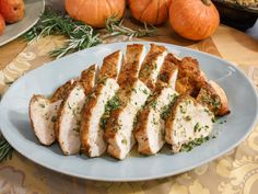 Turkey Breast with Lemon and Caper Sauce