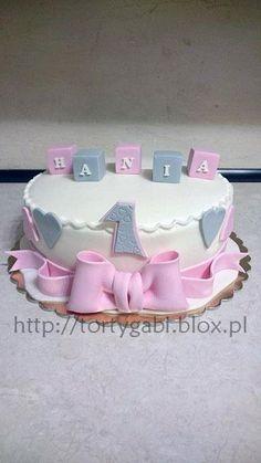 Znalezione obrazy dla zapytania tort na roczek