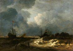 Afbeelding Jacob Isaacksz van Ruisdael - The Tempest